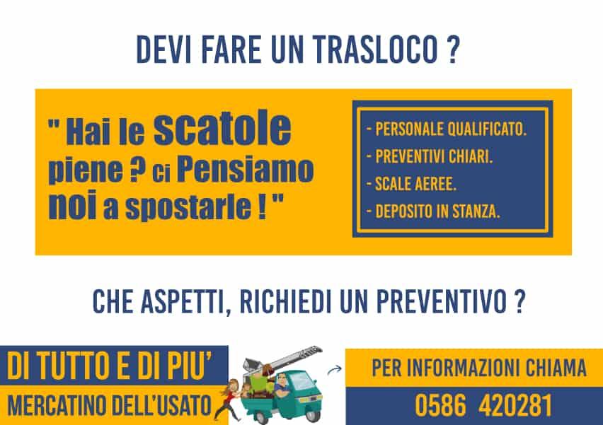 TRASLOCHI E DEPOSITO BOX PRIVATI