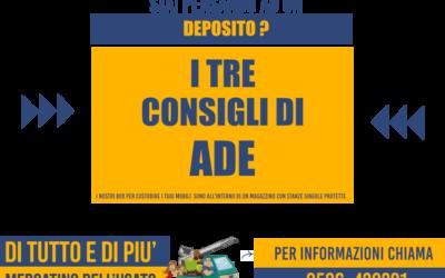 I 3 motivi per pensare ad un deposito al Mercatino dell'Usato Di Tutto e Di Più di Livorno